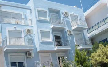 picture of ho21 Agia Galini, south Crete - Sea front renovated apartment block with garden -