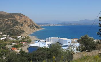 picture of pag270 Gently sloping village plot with wonderful sea views in Agia Galini
