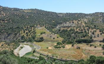 picture of pag307 Large plot along the river near Agia Galini with sea view.