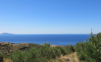 picture of pag316 Plot 3.1km to Agios Georgios beach with incredible sea views