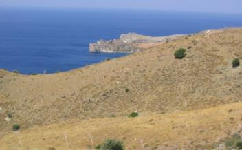 picture of pap130 Plot with panoramic sea views near Triopetra and Akoumia beaches