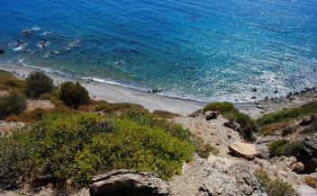 picture of pap276 Agios Pavlos, South Crete. Seafront plot with access to private beach suitable for tourism.
