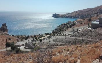 picture of pap322 A plot 220m from the beach and sea, Agios Pavlos