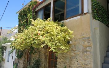 picture of sag229 Traditional two storey stone house in seaside village of Agia Galini