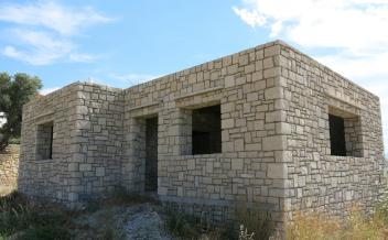 picture of sag277 Newly built stone house requiring completion, near Agia Galini