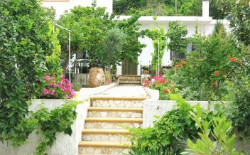 picture of sd266 Restored stone house with garden and sea views in Drimiskos