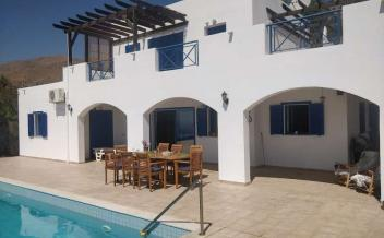 picture of vag274 Agia Galini, Crete. 3  bedroom  villa with pool and spectacular panoramic sea views
