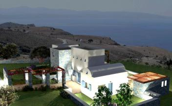 picture of vagi196 Agios Giorgos South Crete 3 bedrooms -4 bathrooms - villa with pool and sea views