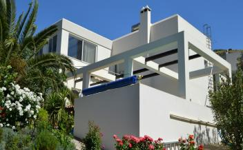 picture of vkam279 Kamilari near Kommos Beach. Modern 3 bedroom villa with pool and garden