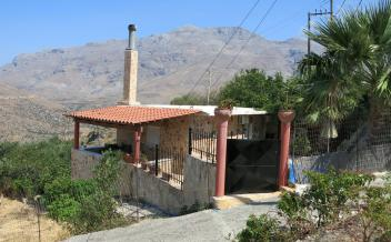 picture of vnsak260 Two bedroom village house with pool and sea view in Saktouria