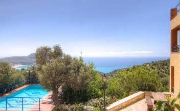 picture of vnsel217 Near Plakias South Crete - Reduced price  5 bedroom  villa with pool in Selia